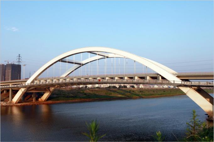 火星北路浏阳河大桥工程